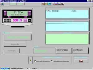 Gestione Orologi: il modulo integrato per la connessione ai terminali Checkpoint offre all'utente la massima semplicità di utilizzo, pur consentendo di sfruttare i terminali in tutte le loro potenzialità